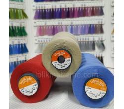 Asist 120 no Polyester Dikiş İpliği Renkli 5000 mt