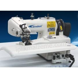 Broderi BD-101-3D Otomatik İplik Kesicili Etek Baskı Makinesi (İntervalli)