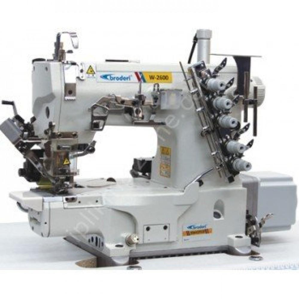 Broderi BD-2664-01CB PUT/PRG/DD Direct Drive Full Otomatik Merdaneli Burunlu Reçme Makinesi