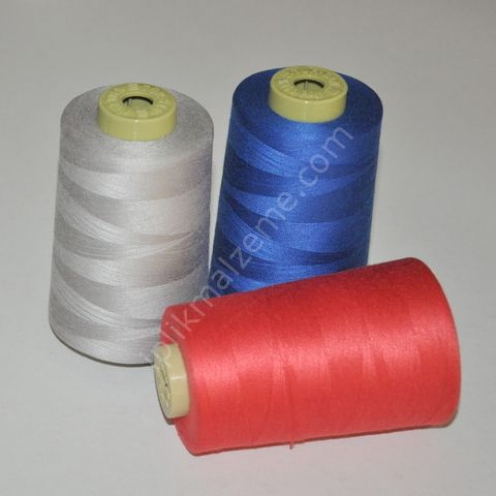 Türsan 120 no Polyester Dikiş İpliği Renkli 5000 mt.