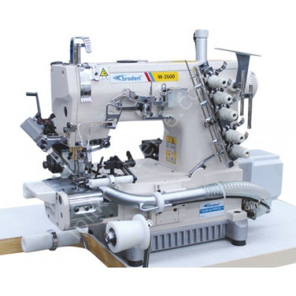 Broderi BD-2664-33AC FT/RP/PUT/DD Direct Drive Full Otomatik Tüp Lastik Reçme Makinesi