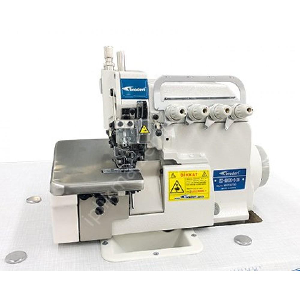 Broderi BD-6800D-5-38 Direct Drive 5 İplik Overlok Makinesi