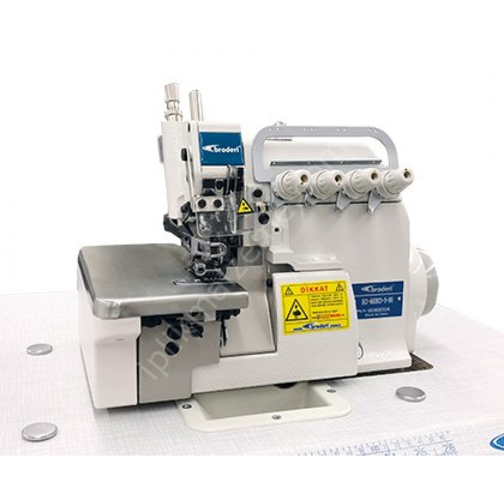 Broderi BD-6800D-5-70 Direct Drive 5 İplik Safari Overlok Makinesi