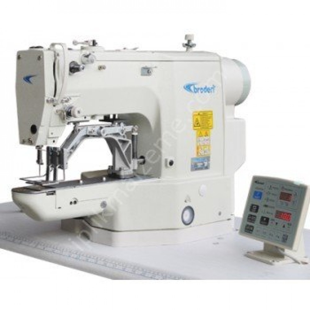 Broderi BD-430D/Z Direct Drive 40x40 mm Zarf Dikiş Makinesi