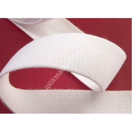 Örme lastik beyaz 1,5 cm - 2 cm - 2,5 cm - 3 cm - 3,5 cm - 4 cm - 5 cm 3 cm