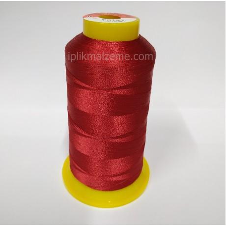Polynet 30 No Polyester Nakış İpliği 2500 mt Kırmızı
