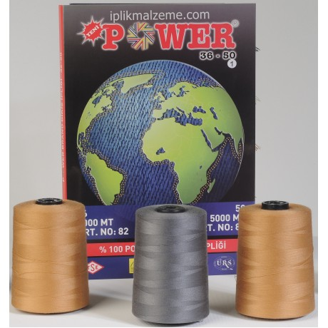 Power 36 no Polyester Dikiş İpliği 3000 mt.